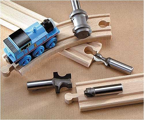 - MLCS Train Track Bit Set (4 piece)