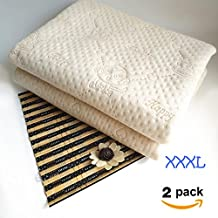 """Waterproof Bed Pad,Kids Bed Pads for Potty Training,Baby Waterproof Pad for Bed Washable,Crib Mattress Protector for Baby,Washable Soaker Mattress Pad for Toddler Cartoon (XXXL-47"""" x 28"""") 2 pack"""