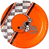 NFL Cleveland Browns Disposable Paper Plate (20-Pack)