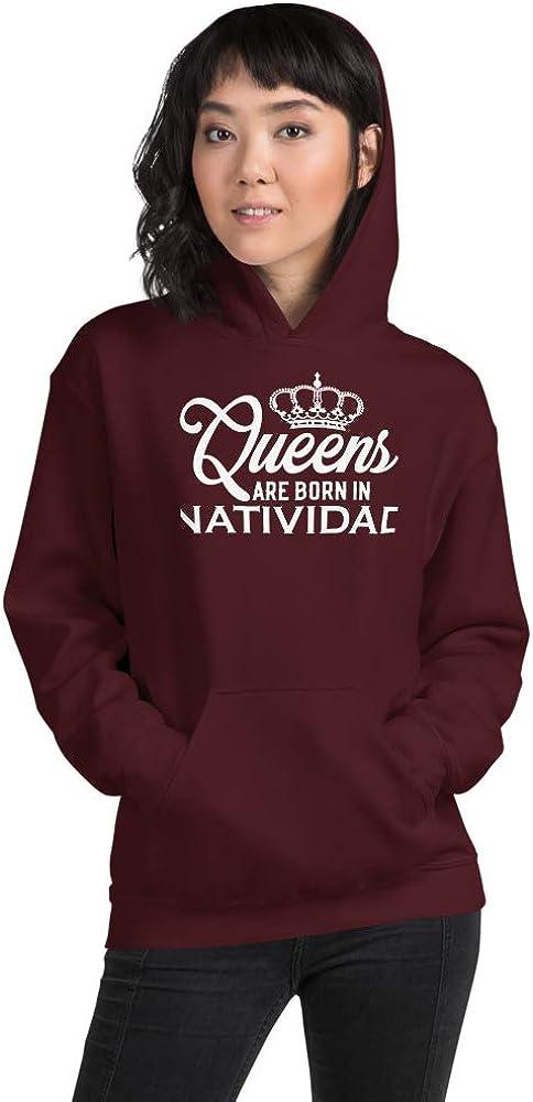 Queens are Born in Natividad PF Maroon