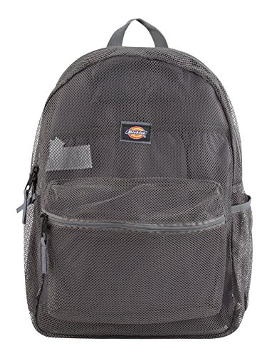 Dickies Mesh Backpack, Grey, One Size (Dickies Mini)