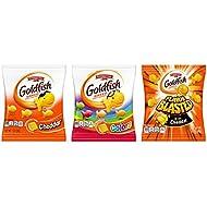 Pepperidge Farm, Goldfish, Crackers, 37.6 oz, Variety Pack, Box, Snack Packs, 40-count