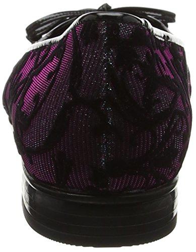 Gabor Women's Basic Ballet Flats Black (Schwarz/Petrol) UN3THqsZyt