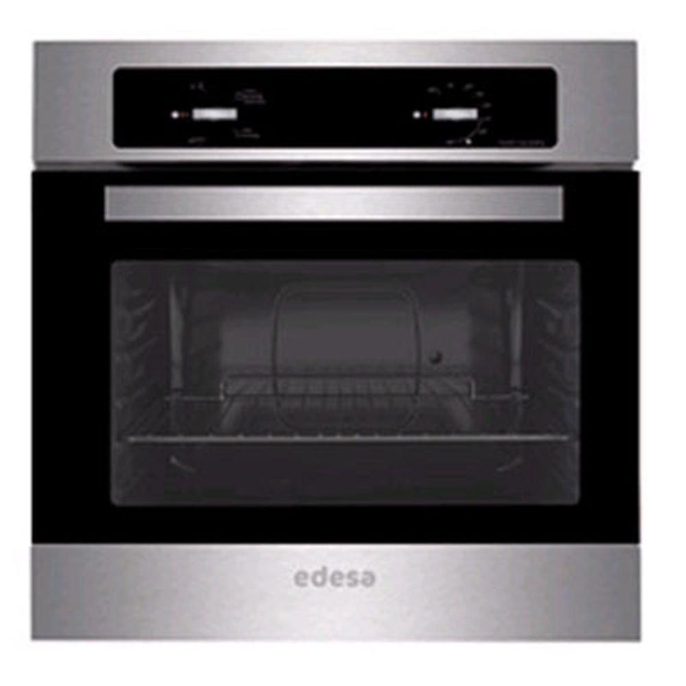 Edesa URBAN-H120X - Horno (54 L, 2670 W, Eléctrico, Incorporado, Negro, Acero inoxidable, Giratorio)
