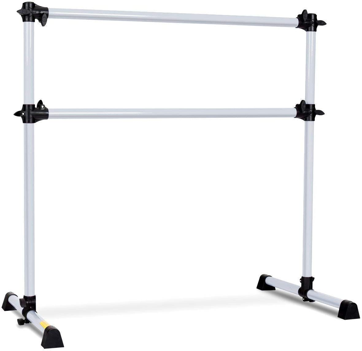 GOFLAME Ballet Barre Portable Double, Freestanding Ballet Barre Adjustable, Heavy Duty Dancing Stretching Ballet for Home,Dance Barre, Fitness Ballet Bar