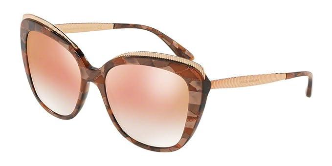 93449e2f6f51ea Dolce   Gabbana - Lunette de soleil - Femme - - 57  Amazon.fr  Vêtements et  accessoires
