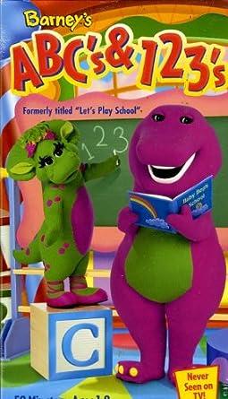 Barney Abc And 123 Amazonca Video