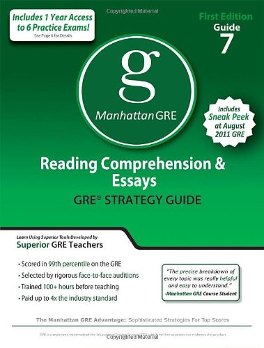 gre essay prep Scoreitnow is the official gre essay practice service read an argument essay that earned a top score, plus some commentary on how the service can help you prep for the gre.