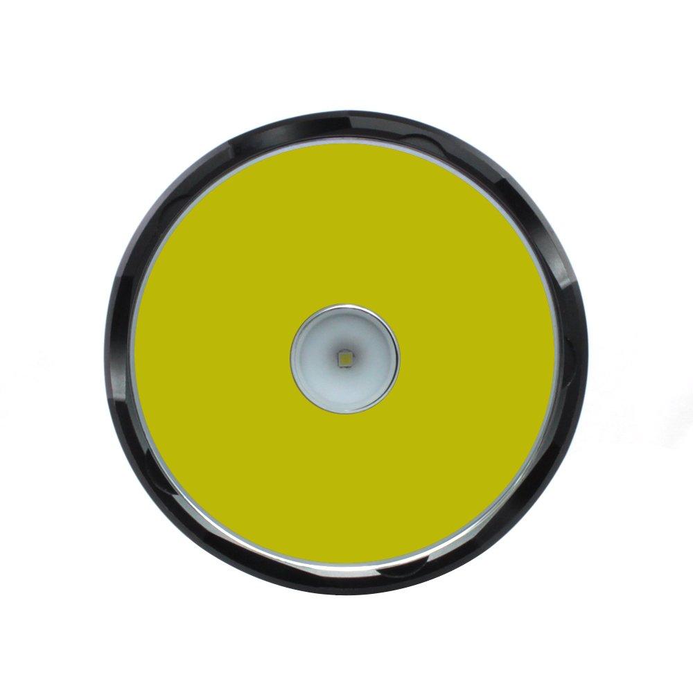 ThruNite TN42C V2 Rechargeable lampe de poche LED 2000 Lumens Piles comprises TN42C Cool White Adopt/ée 1 x CREE XHP35 HI LED avec 6800 mAh Rechargeable Battery Pack Combo de Thrower /& Flood