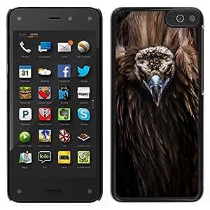 A-type Arte & diseño plástico duro Fundas Cover Cubre Hard Case Cover para Amazon Fire Phone (Bird Beak Feathers Nature Animal Condor)