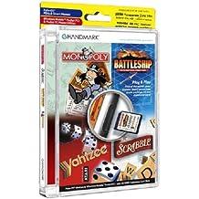 Handmark Monopoly/Scrabble/Battleship/Yahtzee Game Pack on SD/MMC Card