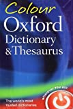 Colour Oxford Dictionary and Thesaurus, , 0199607931