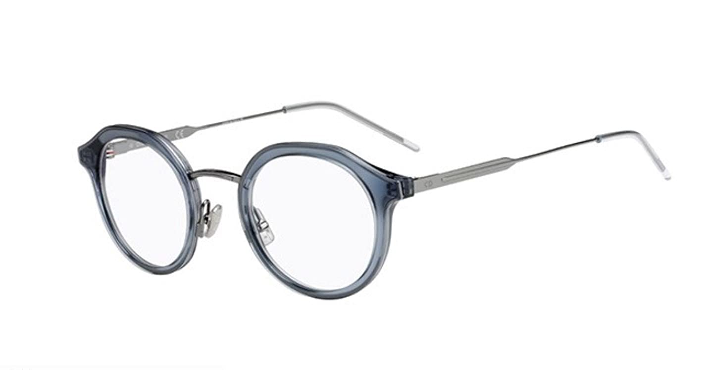 66cb19c6d0d Authentic Christian Dior Homme 0216 JBW Blue Havana Eyewear Eyeglasses   Amazon.co.uk  Clothing