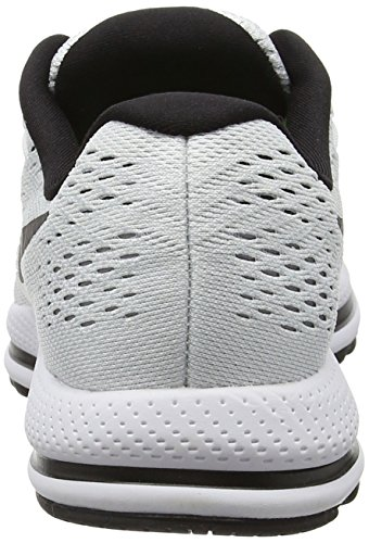 timeless design dad1b 315ff ... Nike Femmes Air Zoom Vomero 12 Chaussure De Course Blanc   Black-pure  Platine ...