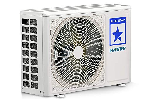 Blue Star 1.0 Ton 5 Star Inverter Split AC (Copper, IC512CATU, White)