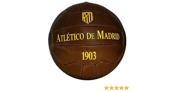 Balón retro del Atlético de Madrid: Amazon.es: Deportes y aire libre