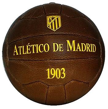 Balón retro del Atlético de Madrid