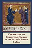 img - for Commentary for Benedictine Oblates: On the Rule of St. Benedict book / textbook / text book