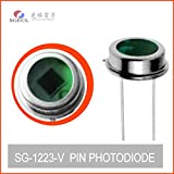 10pcs Silicon PHOTODIODE 390 to 675nm Visible spectral Detector 565nm Photodiodes