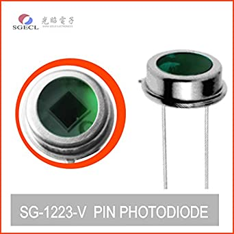 10pcs Silicon PHOTODIODE 390 to 675nm Visible Spectral Detector 565nm Photodiodes: Amazon.com: Industrial & Scientific