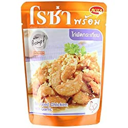 Stir Fried Chicken with Garlic- Ready to Eat (On Sale!!!)- Thai Halal Food