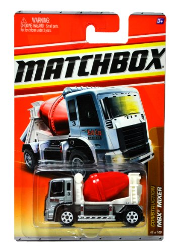2011-matchbox-mbx-mixer-46-construction-9-11-grey-body-white-carriage-red-barrel-mixing-drum-red-cap