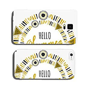 Tribal Frame Typographic Summer Design cell phone cover case iPhone6 Plus