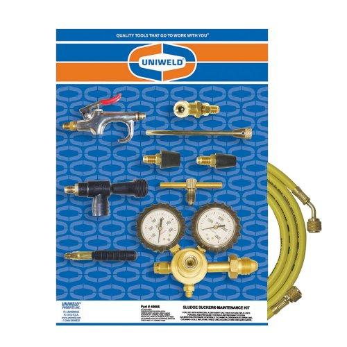 Uniweld 40055 Nitrogen Sludge Sucker Maintenance Kit with 0-400 PSI Maximum Delivery Pressure