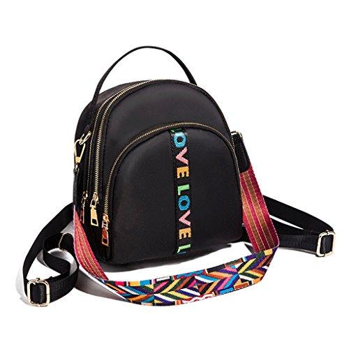 femelle mignon à mode bandoulière mini de achats QI Noir dos Sac DEI Couleur de sac à Noir tourisme mignon superbe EwOIgSq