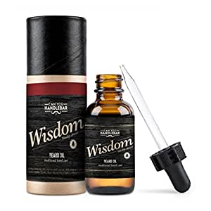 Can You Handlebar Wisdom Premium Beard Oil Bottle: Woodsy