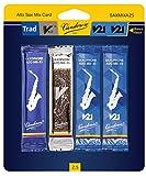 Vandoren SAXMIXA25 Alto Saxophone Reed Mix Card