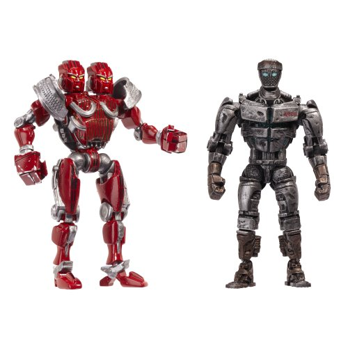 Real Steel Versus 2 Packs Assortment 1 - Atom vs. Twin -