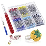 Pllieay 600 Pieces 6 Color Sewing Pins 38mm