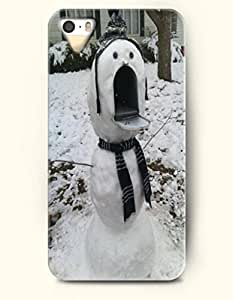 OOFIT iPhone 5 5s Case - Snowman Mailbox