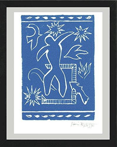 (Henri Matisse Original Hand-Signed Limited Edition Linocut Print with COA,