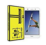 TEMPERED GLASS FOR HUAWEI HONOR HOLLY 3 with 9H,0.26,2.5D, by Mouse Trap (Pack-1)