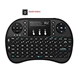 Updated-2016BacklitRii-i8-24GHz-Mini-Wireless-Keyboard-with-Touchpad-MouseLED-BacklitRechargable-Li-ion-Battery