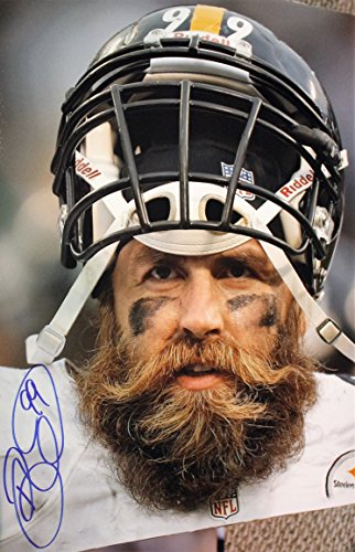 Autographed Brett Keisel Pittsburgh Steelers 16x20 Photo with COA