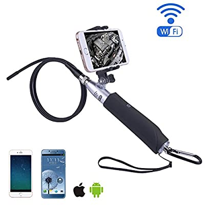 Endoscope, Warmhoming Borescope Handheld Waterproof USB Inspection Camera HD Flexible Snake Camera for Smart Phone and PC