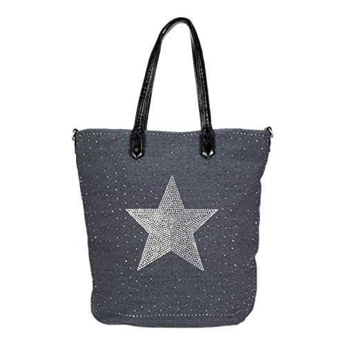ROSENROT - Bolso de tela de Lona para mujer Multicolor multicolor Multicolor - Ozeanblau