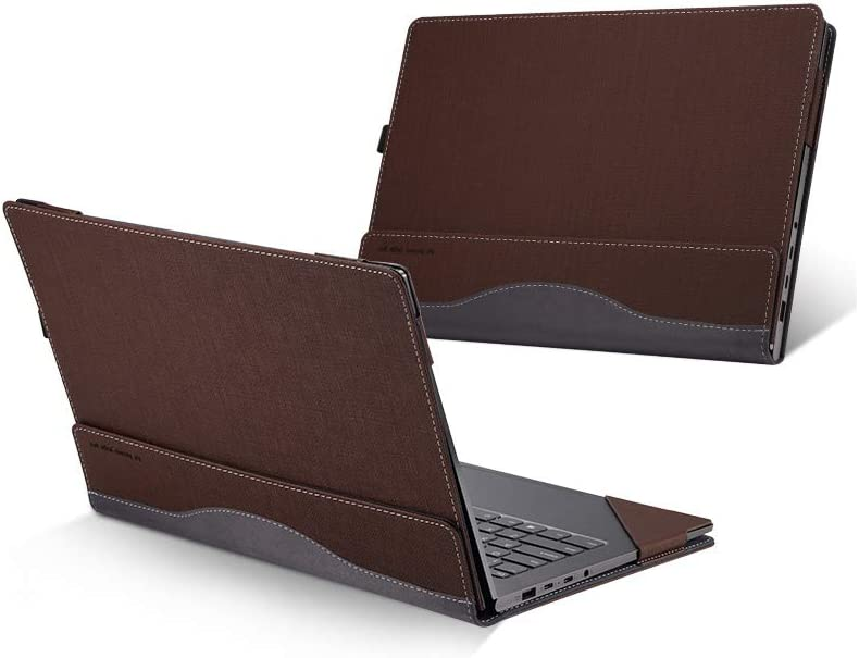 Hp Spectre X360 13.3 Inch Case ( Not Fit HP Spectre Series ), PU Leather Folio Stand Hard Cover for Hp Spectre 13.3