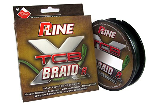 P-Line TCB 8 Carrier 300-Yard Braided Fishing Line