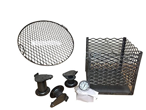 55 gallon drum grill kit - 2
