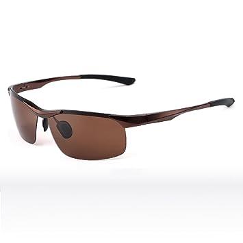 Sunny HONEY Gafas de sol polarizadas deportivas personalizadas - Marco de aluminio y magnesio de aviación