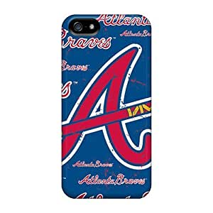 Rosesea Custom Personalized High-end Cases Covers Protector For Iphone 5 5s atlanta Braves wangjiang maoyi