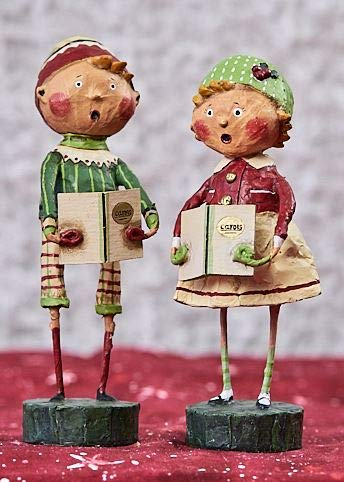 Lori Mitchell Henry & Holly Come A Caroling (Set of 2) ()