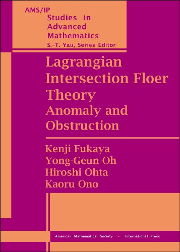 Lagrangian Intersection Floer Theory (Set) (AMS/IP Studies in Advanced ()