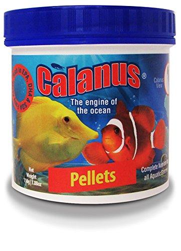 CALANUS PELLETS S 110G MANGIME GRANULI Pesci Acquario Marino Reef BARRIERA BCUK BCUK AQUATICS