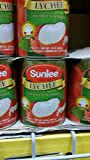 Sunlee Lychees in Syrup 20 Oz (4 Pack)