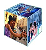 MCS 3.25x3.25 Inch Clear Plastic 6 Sided Photo Cube